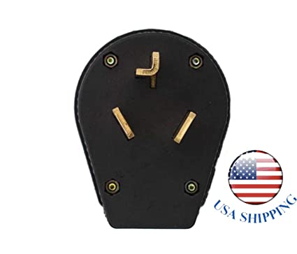 Shnile Nema 10-30P Power Plug Connector, 30A 30 Amp, AC 125V