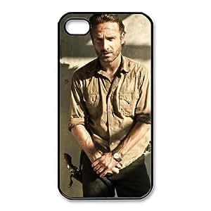 iphone4 4s Phone Case Black The Walking Dead HUX305499