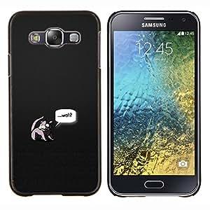 EJOOY---Cubierta de la caja de protección para la piel dura ** Samsung Galaxy E5 E500 ** --Wat Pokémons
