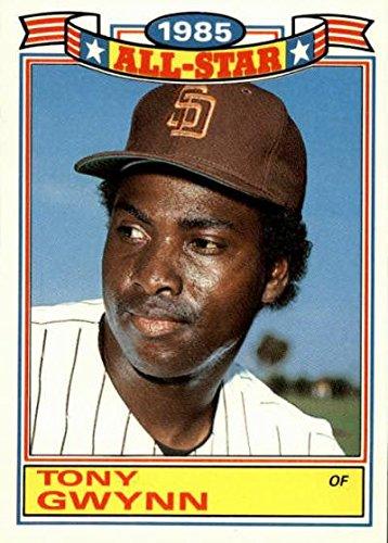 Amazoncom Tony Gwynn Baseball Card San Diego Padres 1986