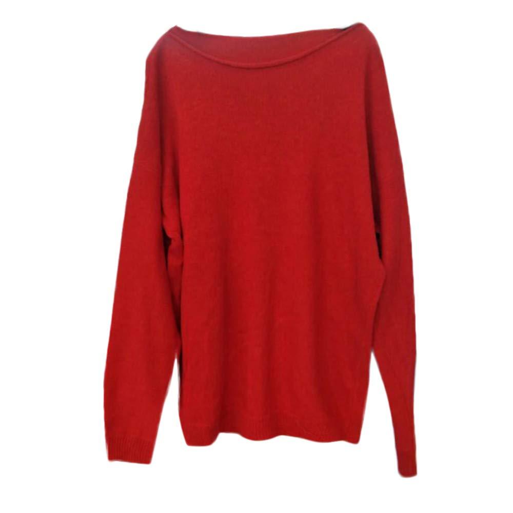 suéter Mujer,BBestseller Sweaters Jersey de Punto Casual de Manga Larga de casa Sólido Pullover Outwear de Invierno Abrigo Suelta de Mujer: Amazon.es: Ropa ...