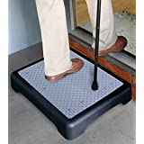 E-Fast? E-Fast Instant Height Non Slip Outdoor Step (1193) Half Step instantly reduces height of doorsteps. Mobility Aid. by E FAST?