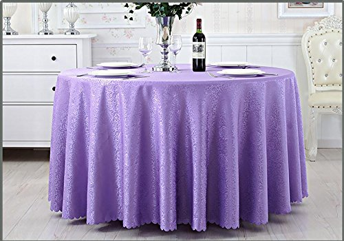 140x180cm Light Purple blueELSS Leaf Cotton Linen Table Cloth Rectangle Kitchen Coffee Table Cover Home Hotel Party Tablecloth,Light Purple,140X180cm