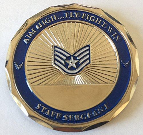 USAF Staff Sergeant Challenge Coin ()