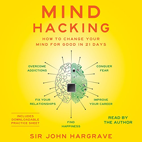 Mind Hacking: How to Change Your Mind for Good in 21 Days Audiobook [Free Download by Trial] thumbnail