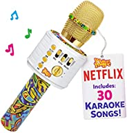 Bluetooth Karaoke Microphone Perfect Birthday Gifts for Kids, Toy for 4 5 6 7 8 year old Girls and Boys