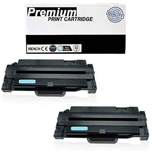 JSL 2pk Black MLT-D105L Toner High Yield For Samsung MLTD-105S ML-1910 1915 ML-2545 ()