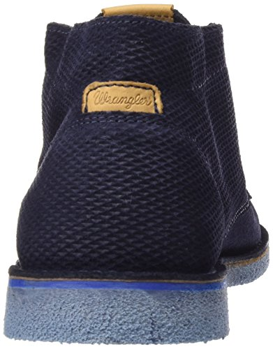 Wrangler Churlish - Botines Desert Hombre Azul - Blau (17 DK.NAVY)