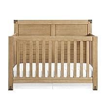 Baby Relax DA7323B4 Ridgeline 4-in-1 Convertible Crib, Natural Rustic