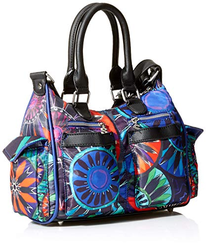 Desigual cm London indian x Bag 13x21x26 B Lovely Azul Multicolor Bols Mini 5 Womens T Galactic H gx7rxn