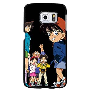 for Samsung Galaxy S6 Edge+ Classical Design Detective Conan Cover Case Japanese Hot Anime TV