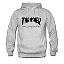 Thrasher Printed For Boys Girls Hoodies Sweatshirts Pullover Tops