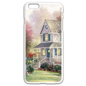 Case Cover For LG G2 Painting House Design Hard Back Cover Cases Desgined By RRG2G