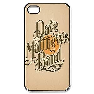 Elegant Design Hard Case Back Cover Case Dave Matthews for iphone 5 5s 4G -Black031112