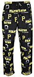 Pittsburgh Pirates Mens MLB Black Fusion Pajama Pants