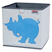 Trend Lab Dr. Seuss Horton Storage Bin, Blue/Gray