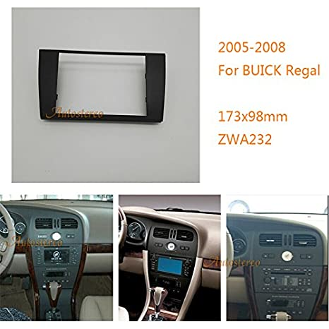zwnav coche Audio Radio marco de montaje marco embellecedor para Buick Regal 2005 - 2008 Radio estéreo Dash CD Trim Kit de instalación: Amazon.es: Coche y ...