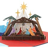 3D Christmas Card - Birth of Jesus - Pop up Cards, Religious, Greeting Card By SolarMatrix