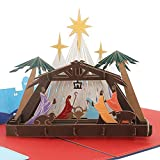 3D Pop Up Card - Birth Of Jesus - Greeting Cards, Religious, Christmas Card