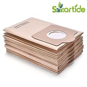 Smartide Aspirador adecuado para Kärcher 6.959-130.0 Filtertueten (6 piezas) 2201, 2204,