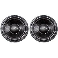 (2) Skar Audio DDX-15 D4 15 1500W Max Power Dual 4 Car Subwoofer