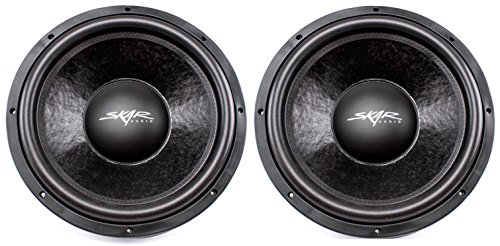 "(2) Skar Audio DDX-15 D4 15"" 1500W Max Power Dual 4 Car Subwoofer"
