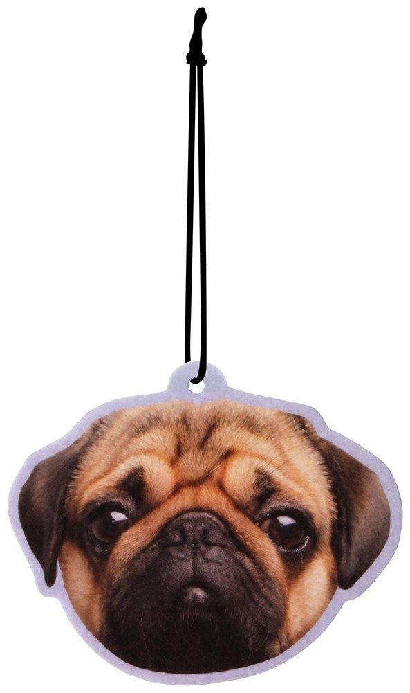 Peach Scented Pug Air Freshener Dochsa