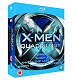 X-Men Quadrilogy (X-Men / X2: X-Men United / X-Men: The Last Stand / X-Men Origins: Wolverine) [Blu-ray]