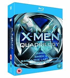 X-Men Quadrilogy (X-Men / X2: X-Men United / X-Men: The Last Stand / X-Men Origins: Wolverine) [Blu-ray]