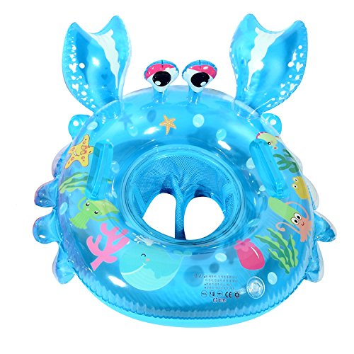 Infant Crab Seat Boat Swim Ring with Handles