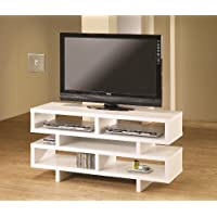 Coaster 46 Entertainment Tv Console in White