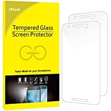 JETech Screen Protector for Google Nexus 6P, Tempered Glass Film, 2-Pack