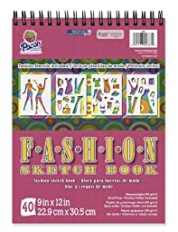 Pacon Fashion Design Sketch Book, 9\
