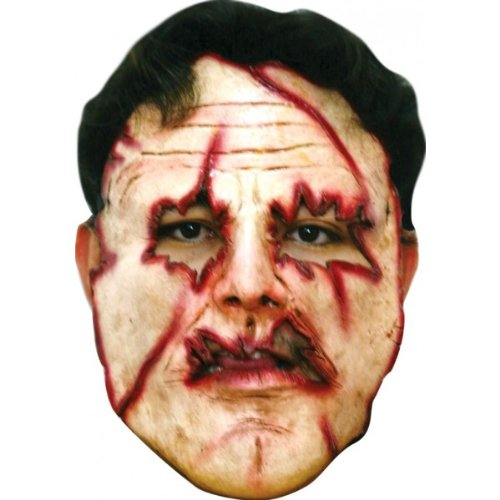 Serial Killer #8 Latex Costume Face -