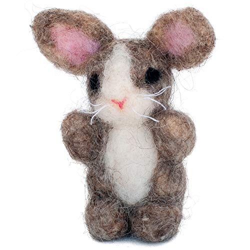 Dimensions Bunny Felt Animals Needle Felting Kit, 3'' x -