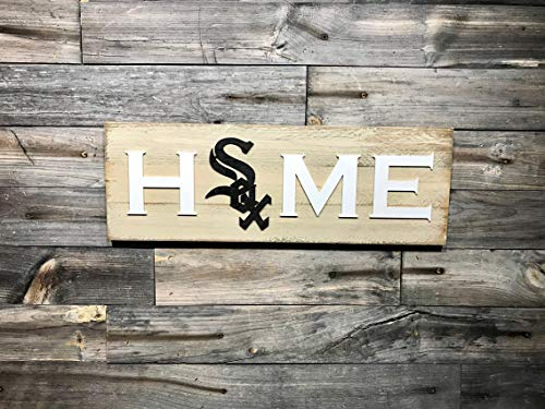 (SLobyy Chicago White Sox Home Plaque Sign 7