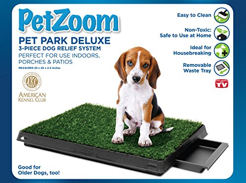 (PetZoom Pet Park Deluxe 3-Piece Dog Relief System)