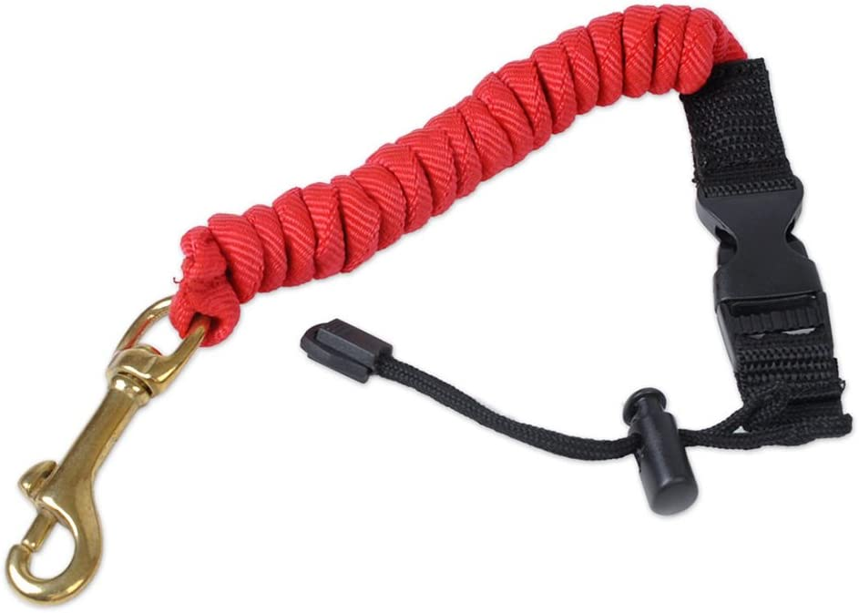 Elastic Rope Shock Safety Bungee Cord Rowing Lanyard for Kayak Boat Canoe D8F7
