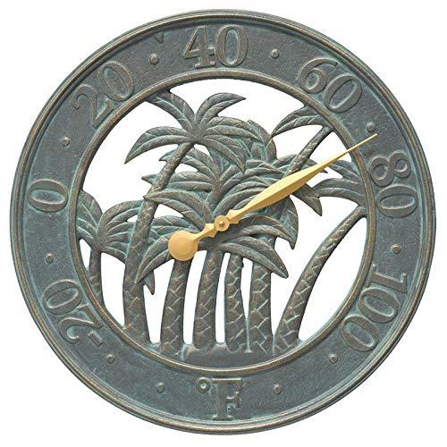 Whitehall Products Palm Thermometer, Bronze Verdi
