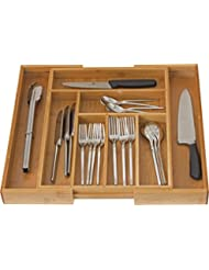 Exceptionnel Home It Expandable Use For, Utensil Flatware Dividers Kitchen Drawer  Organizer Cutlery
