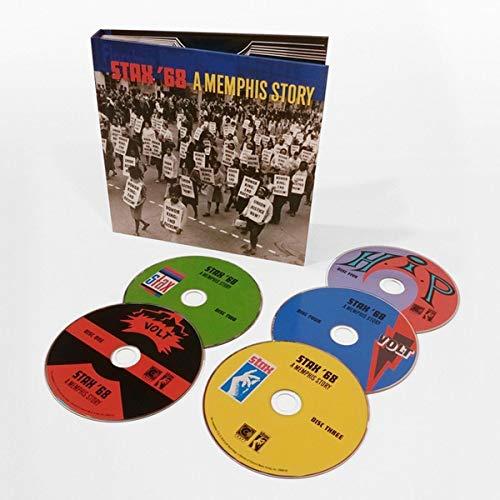 Stax '68: A Memphis Story [5 CD Box - Record Box Set