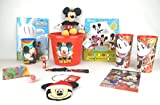 Disney Jr Mickey Mouse Toy Books Plush Learning Activity Bundle Gift Set