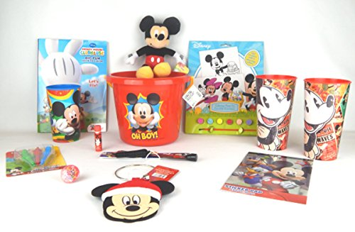 Mickey Mouse Learning Bonanza Bundle 12 pieces Bundle Gift Set (Juguete De Mickey Mouse)