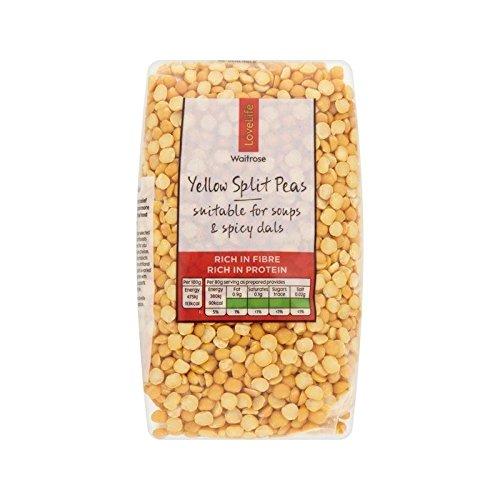Yellow Split Peas Waitrose Love Life 500g - Pack of 2 by WAITROSE