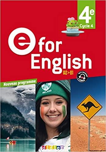 Amazon Fr E For English 4e Ed 2017 Livre Karine