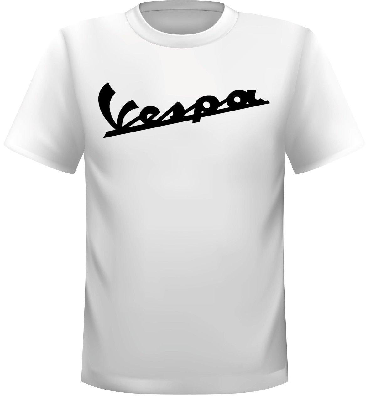 Camiseta de Vespa con texto Streetwall
