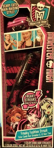 Monster High Freaky Fashion Streaks (Pink and Black)