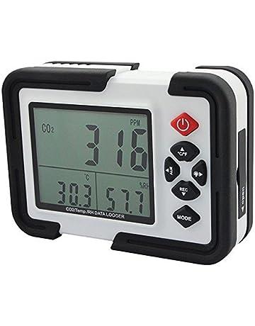 Doradus HT-2000 Medidor portátil de 9999ppm de CO2 Monitor analizador de gas detector de