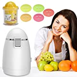 Facial Mask Maker - Facial Mask Machine, Onekey Operate Smart DIY Fruit Vegetable Natural and Organic Skin Care Face Mask Maker with 12 Counts Collagen Tablets