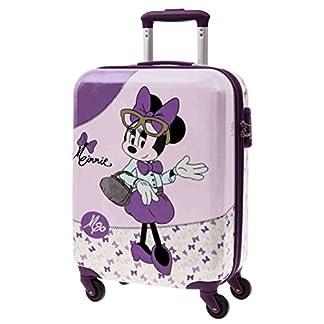 Disney Minnie Glam Equipaje Infantil, 33 Litros, Color Rosa